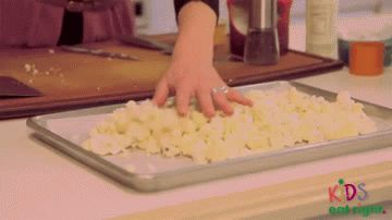 Bloemkool popcorn