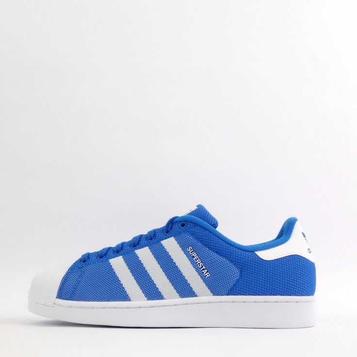 adidas Originals Superstar Weave Mens Shell Toe Trainers Shoes Sneakers  Blue in Clothes, Shoes &