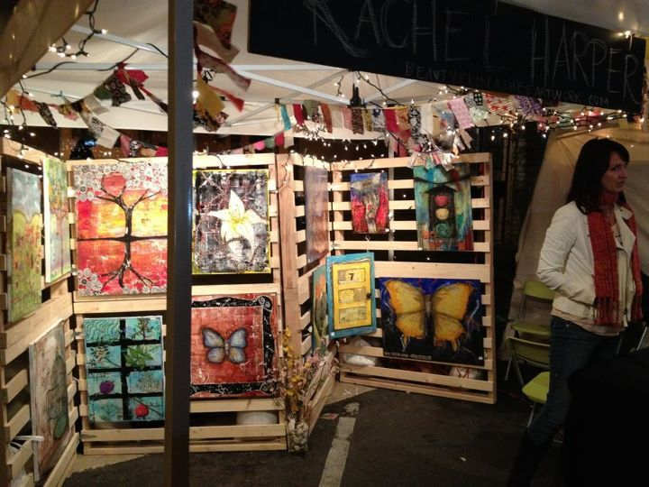 1000 images about creative art show displays on pinterest for Art craft shows