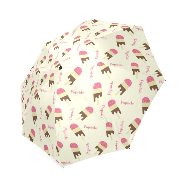 Popsicle Ice Cream Pattern Foldable Umbrella