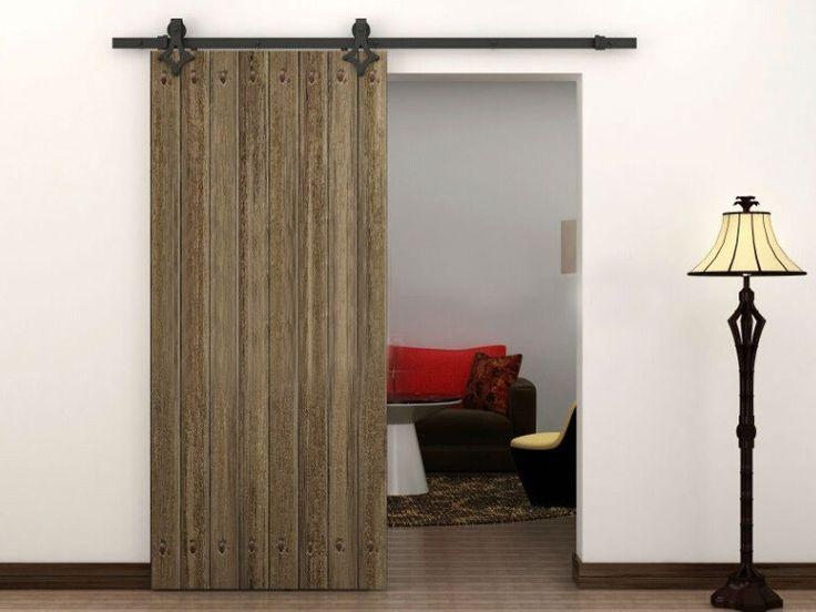 Κλασικό και Ρουστίκ Συρόμενη Πόρτα του Αχυρώνα — Εσωτερικές και εξωτερικές πόρτες Σχεδιασμός   HomeOfficeΔιακόσμηση