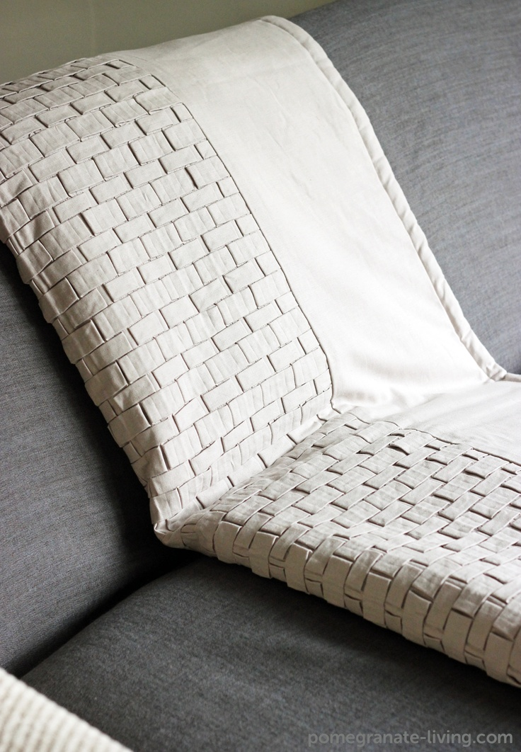 This Origami throw by Nitin Goyal is hand made in India from 100% cotton. £350. http://www.pomegranate-living.com/origami-luxury-throw-in-light-beige-by-nitin-goyal.ir?cName=brands-nitin-goyal-throws