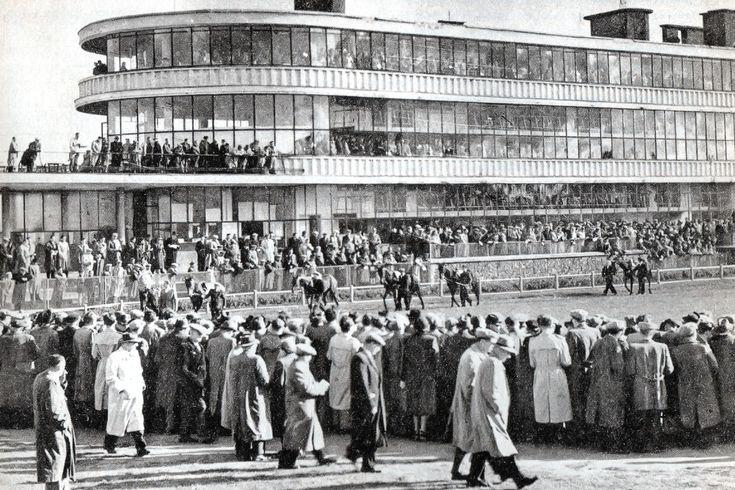 Budynek główny, Tor Służewiec 1968