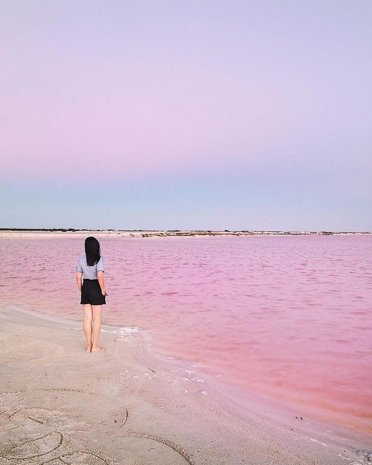 "1,041 Likes, 43 Comments - Harry & Carrie Meier (@harrysding) on Instagram: ""D U S K Y P I N K. 💗 Sunset at the pink lake. A small confession to make...reckon I am just a tiny…"""