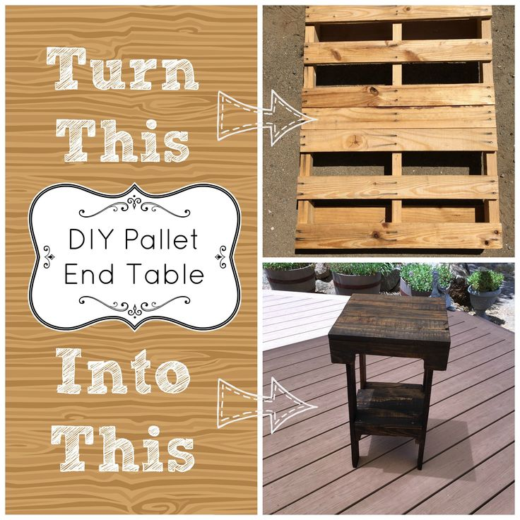 pallet ideas with instructions