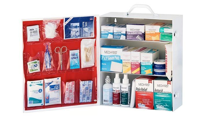 Top 10 Best First Aid Kit For Workspace In Review First Aid Cabinet Student Survival Kits Best First Aid Kit