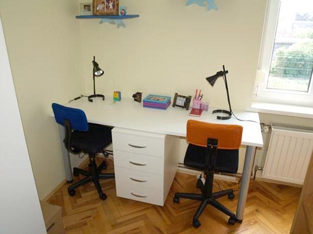 Pisaći stol za dvoje / Deveti Planet / Dječje sobe / Radni stolovi (Uredi svoj dom)