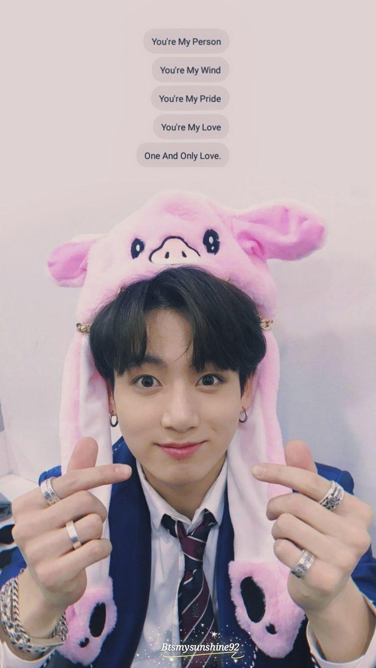 Wallpapers Fofo Cutes Jungkook 💕🐷 Happy New Year Jungkook In 2019 Fondos