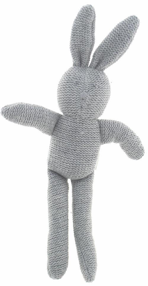 Knit bunny rattle    alimrose.com.au