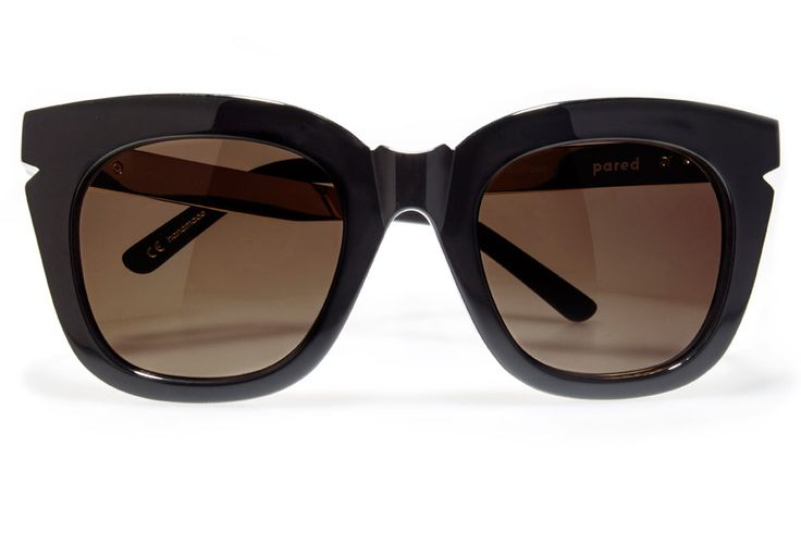 BRIGHT LIGHTS BLACK / GOLD / SOLID BROWN KRYSTLE KNIGHT X PARED EYEWEAR
