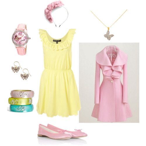 An outfit inspired by Fluttershy from My Little Pony #mylittlepony #fluttershy #friendshipismagic