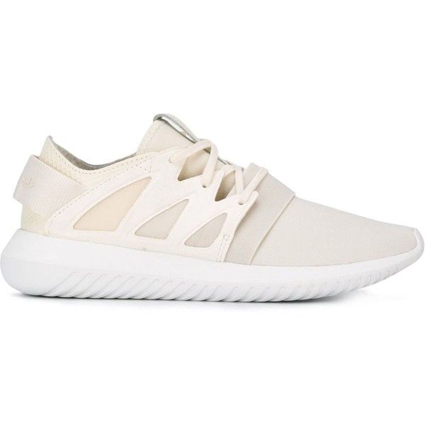 Adidas Originals Tubular Viral Sneakers (1.481.130 IDR) ❤ liked on Polyvore  featuring