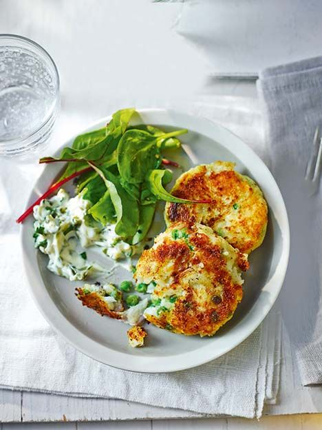 All you need for this simple fishcake recipe is a few basic ingredients including frozen peas, to make a tasty meal.