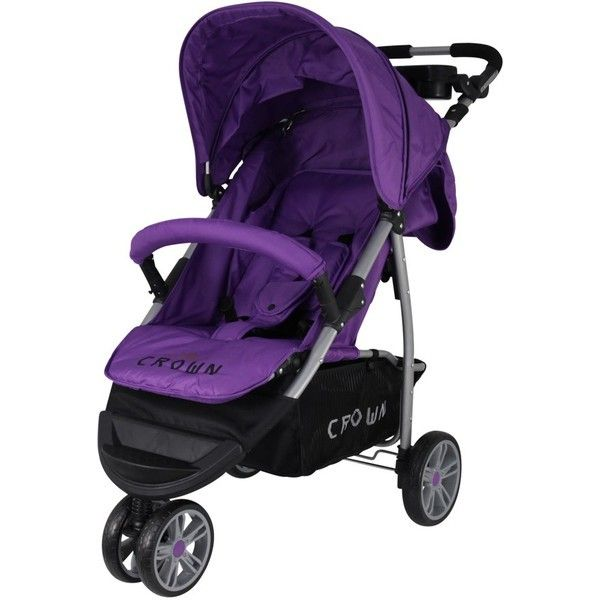 Crown ST 712 Liegebuggy Alu Leicht purple lila - Kollektion 2016