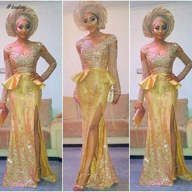 CHECK OUT THESE LATEST GOLDEN FLAVOUR OF ASO EBI STYLES