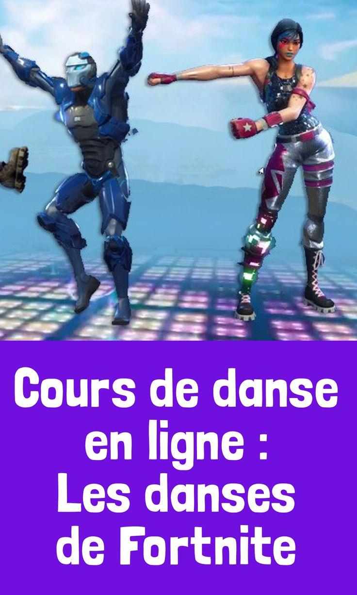 Cours De Danse En Ligne Les Danses De Fortnite Danse En Ligne Fortnite Le Dab