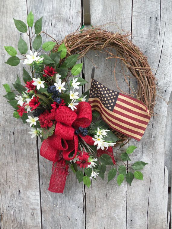 28 Best Images About Front Door Wreaths On Pinterest Summer Wreath Memorial Day And Tulip
