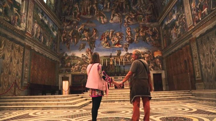 This is our earlier small group morning Vatican highlights tour in approximately two hours with Tourboks.