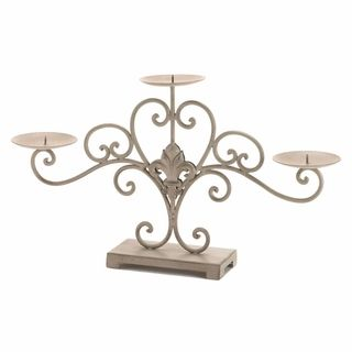 $39.95 - Decorate your home with a little French flair and a whole lot of candlelight with this beautiful stand.