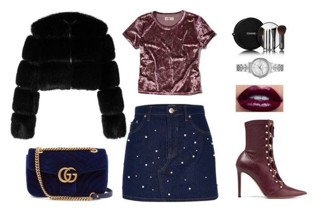 """Velvet"" by csmarcsi on Polyvore featuring Hollister Co., River Island, Gucci, Givenchy, Chanel, Michael Kors and Altuzarra"