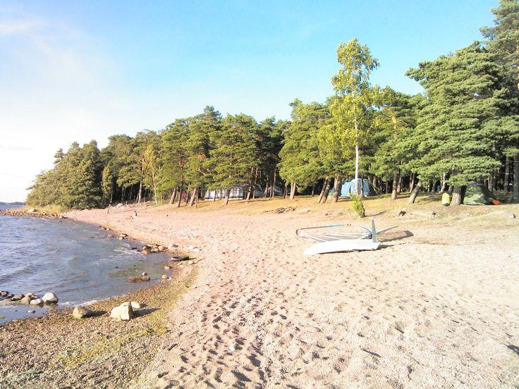 Silversand Camping paikassa Hanko, Etelä-Suomen Lääni
