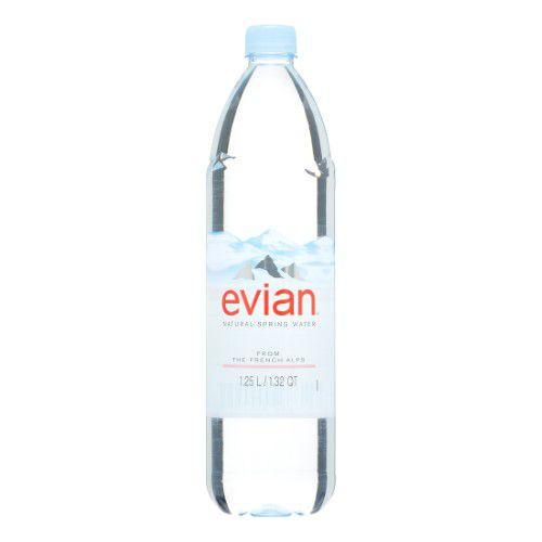 Evian Natural Spring Water, 42.2 Fl Oz (Pack of 4) | Jet.com