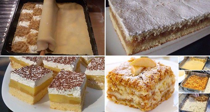 14 nejlepších receptů na jablkové koláče, na kterých si určitě pochutnáte