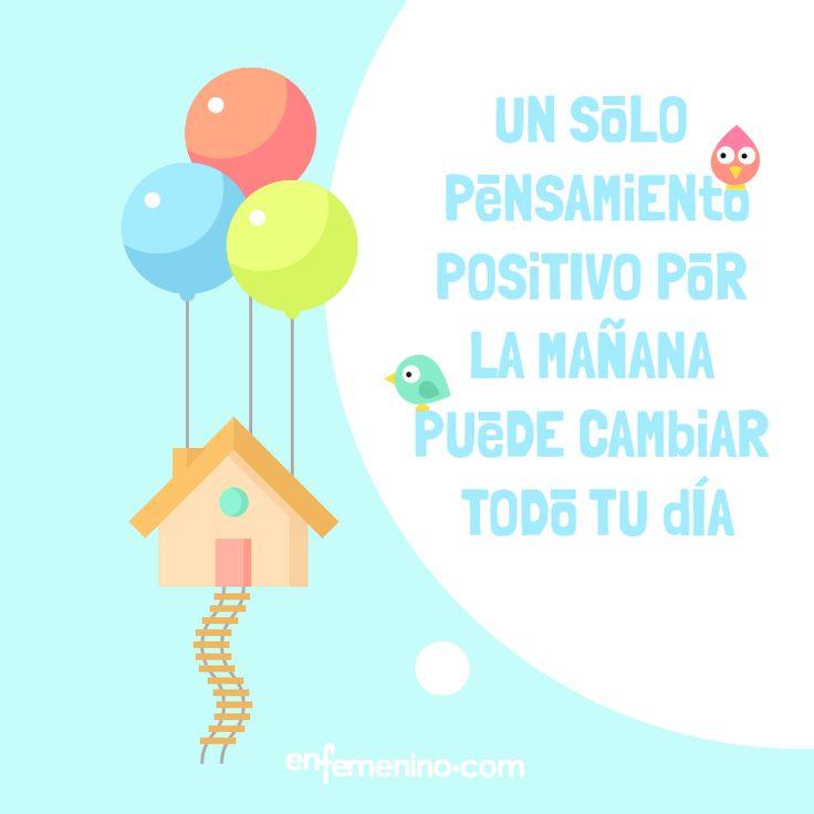 Seamos positivas. ¡Seguro que lo mejor está por llegar! #frasedeldia #motivacion: