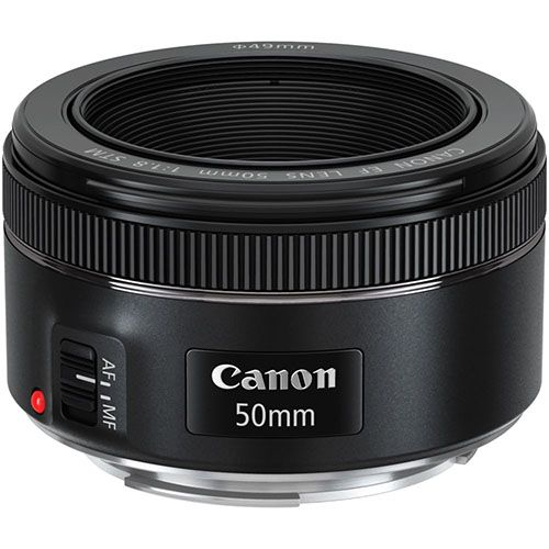 lente canon 50mm f/1.8 cinquentinha