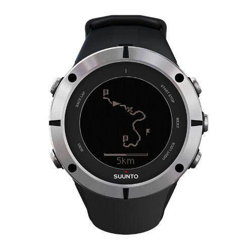 Suunto Ambit2 Sapphire Watch Black/Silver Watch SS019182000