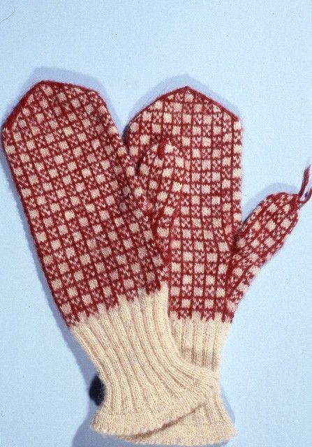 lapaset | Hakutulokset | Finna.fi Finnish knitted mittens