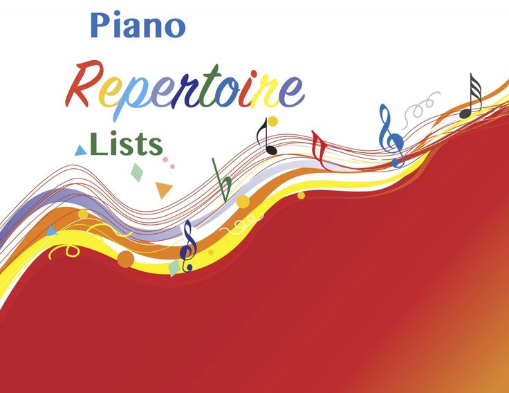 Piano Repertoire Lists Great resource for piano teachers! Organized by level