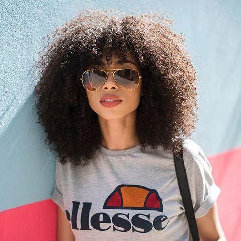 Afro hair, big hair, curly hair, 3c, natural hair | Beautycoliseum.com