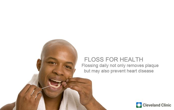 Floss for Health :: Flossing daily not only removes plaque, which leads to tooth decay, but may also prevent heart disease #ClevelandClinic #CCF #WorldClassCare #heart #HeartHealth: Healthy Heart, Ccf Worldclasscar, Diet Foods, Heart Hearthealth, Healthy Habits, Heart Healthy, Clevelandclin Ccf, Healthy Living, Disease Clevelandclin