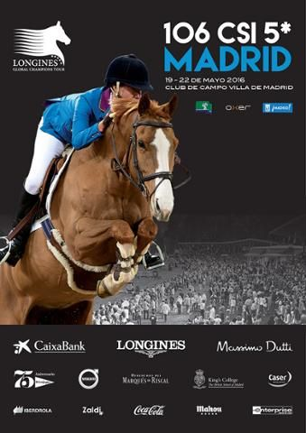 Buenos días, desearos un buen miércoles. Hoy solamente recordaros que del 19 al 22 de mayo se celebra en el Club de Campo Villa de Madrid el 106 CSI5* dentro del calendario de LONGINES GLOBAL CHAMPIONS TOUR. Prueba en la que somos parte de los sponsors. ¡Allí estaremos!  106 CSI – LONGINES GLOBAL CHAMPIONS TOUR - Madrid. Coming soon!! +info: http://oxersport.com/es/event/lgct-madrid-2016/