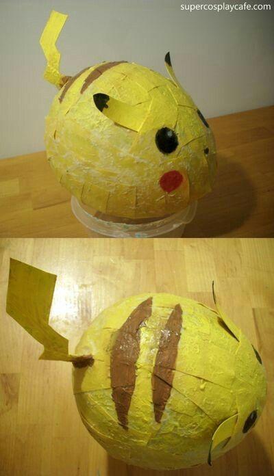 DIY Pikachu Piñata