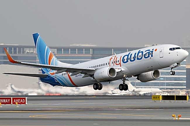 flydubai takeoff