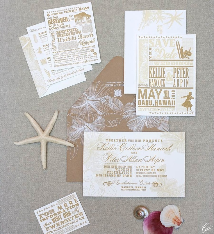 fast shipping wedding invitations%0A Maui Wedding Invitations