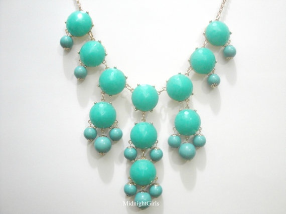 Free Shipping & Gift Wrapping Bubble Necklace by MidnightGirls, $34.00
