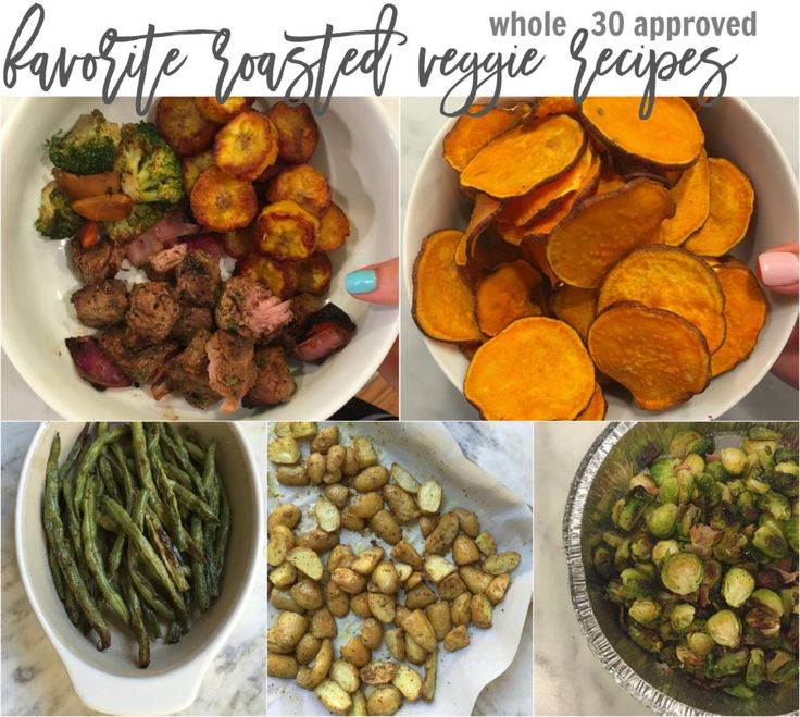 Favorite Roasted Vegetable Recipes