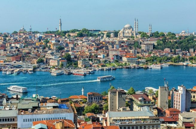 Istanbul - places to visit, things to do.  #Asia #Europe #Turkey || A Long Weekend in Istanbul (Constantinople)