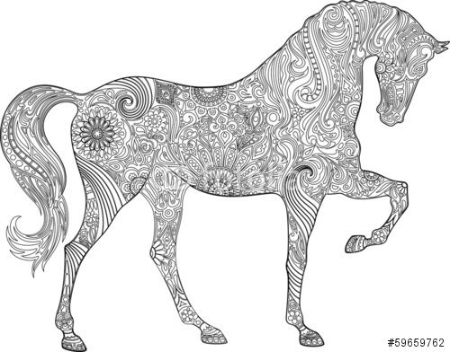 14 besten Gratis Ausmalbilder Pferde Bilder auf Pinterest ...