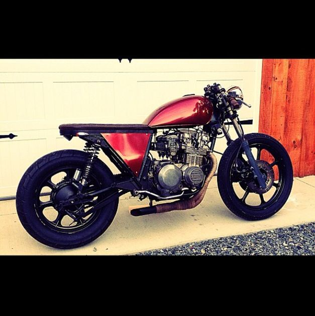 52 best kz550 images on pinterest | cafe racers, custom bikes and