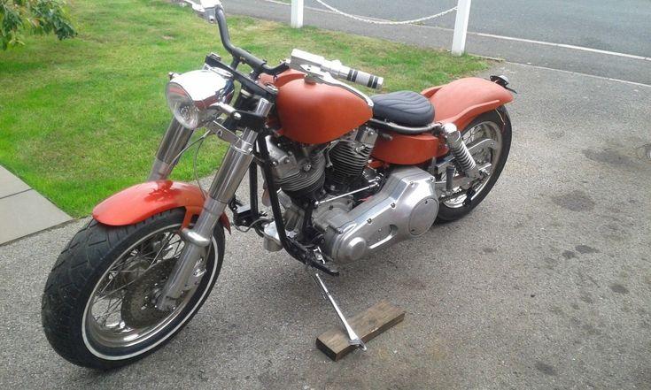 Ebay  Harley Davidson Shovelhead Bobber Chopper Custom
