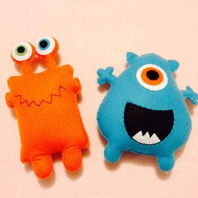 Monstrinhos estilo Toy Art