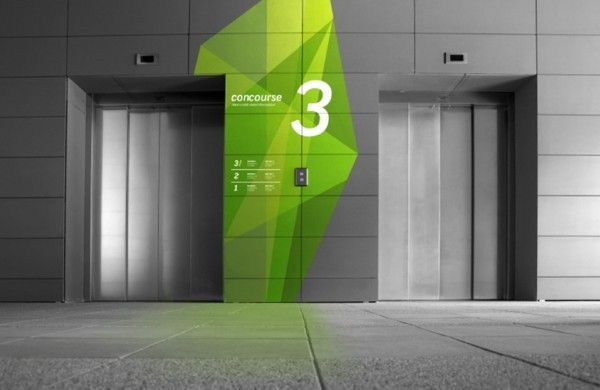 USF Wayfinding by Studio Boessel, via Behance