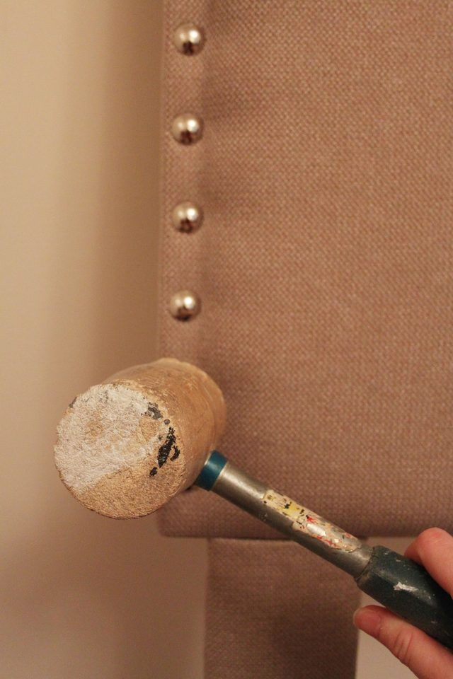 A step by step tutorial for a DIY padded headboard created using plywood…