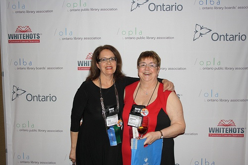 Lila Saab of the OPLA and Frances Ryan of the OLBA