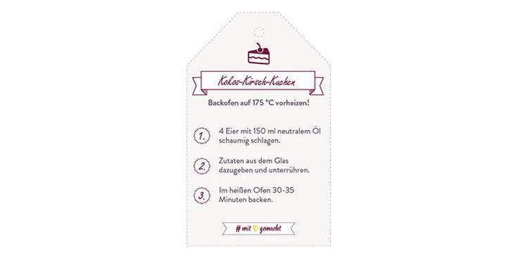 Backmischung Kokos-Kirsch-Kuchen