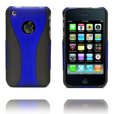 Dual (Sininen) iPhone 3G/3GS Suojakuori